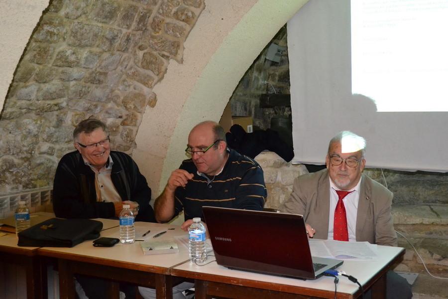 Robert Gaillard.Serge Maillet et Joel Rossignol