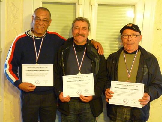 Pierre Steimer et Bernard Massé Licenciés au BTC Fouras J.Pierre BTC Chatel