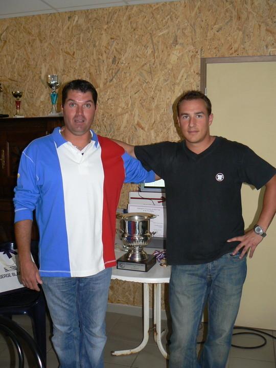 Frédéric et Julien en  Août  2011