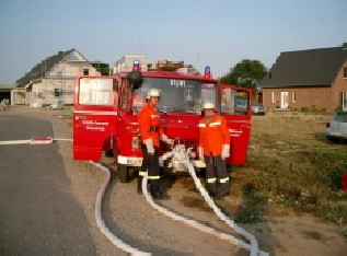 """LF8 """"Einsatzübung Kleiner Hof"""" 2005"""