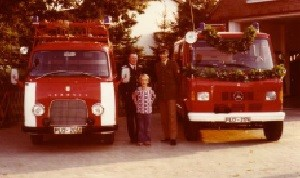 TSF auf Mercedes Benz 1980