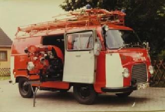 TSF auf Ford Transit 1963