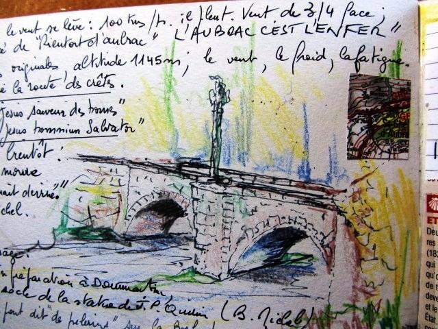 Chemin de Compostelle, voie du Puy : aubrac sauvage