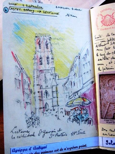 Chemin de Compostelle, voie du Puy : carnet de voyage