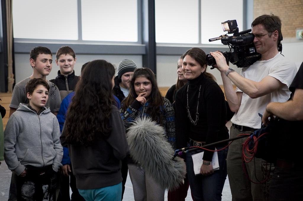 Touchrugby in der Halle - RTL zu Gast bei uns
