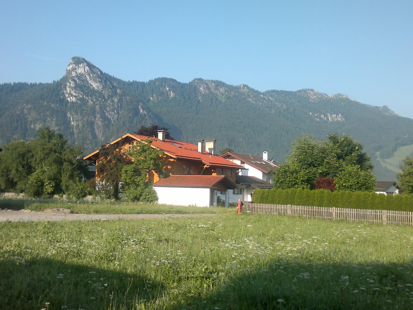 Ankunft in Oberammergau