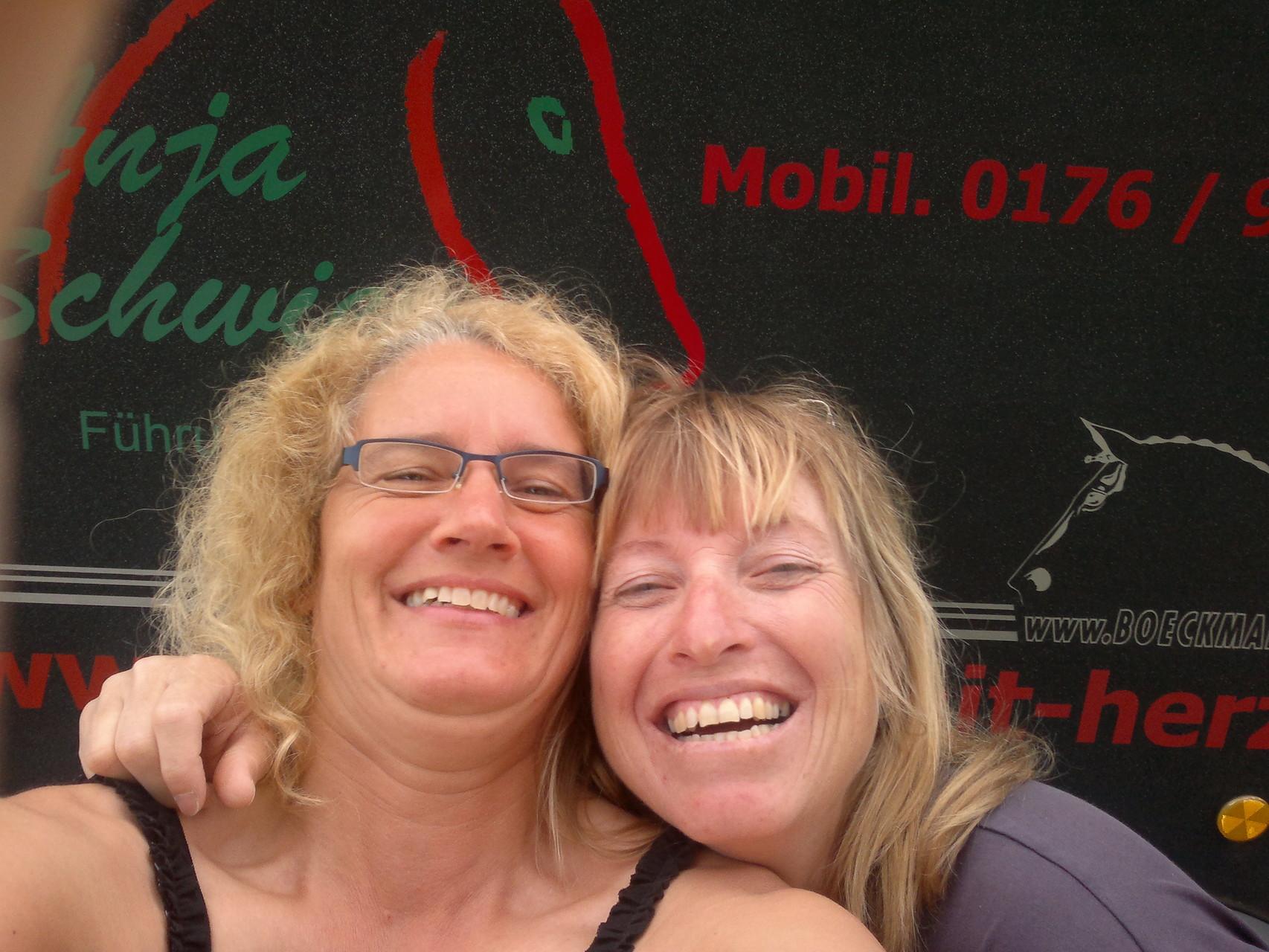 Spontaner Zwischenstopp bei Silvia Mathoi in Rosshaupten