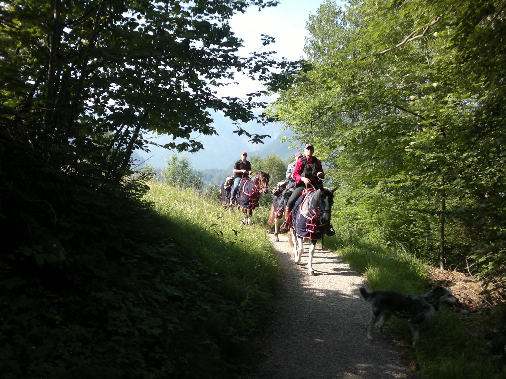 Abritt von Oberammergau