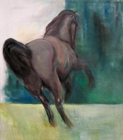 Oda vom Moorflur, Öl auf Leinwand, 140 x 160 cm, 2006