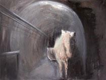 Tunnel, Öl auf Baumwollgewebe, 60 x 80 cm, 2007