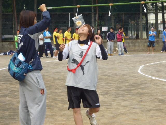 体育祭 パン食い競争