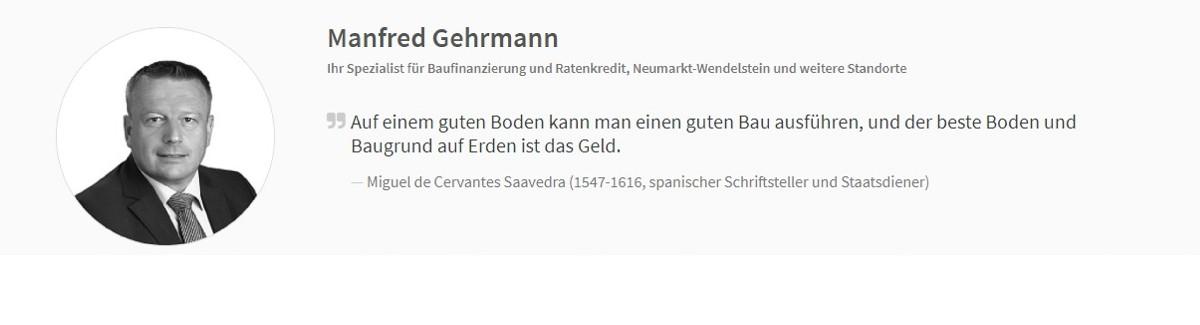 Dr. Klein Manfred Gehrmann Finanzberatung