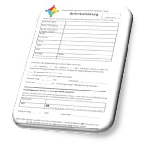 Beitrittserklärung in der Gemeinschaft regionaler Unternehmen Postbauer-Heng e.V.