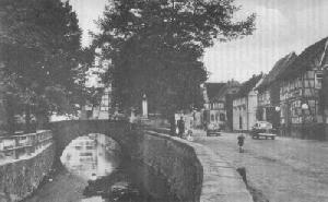Dorfansicht aus den 50er Jahren