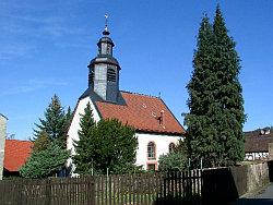 Foto der Bleichenbacher Kirche