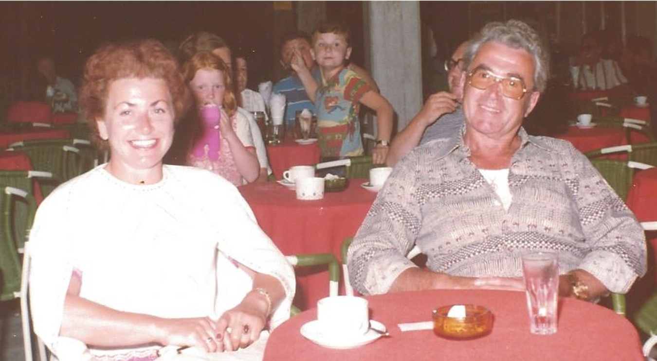 Meine Eltern Toni und Wilhelm Heuser
