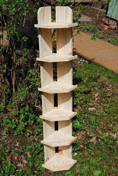 полка деревянная настенная