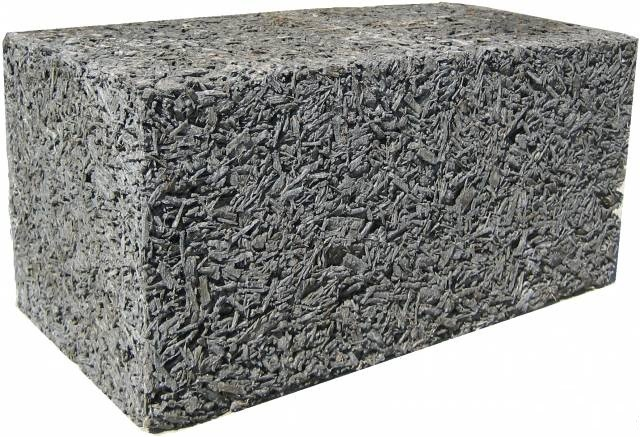 арболитовый блок 400х200х200 мм