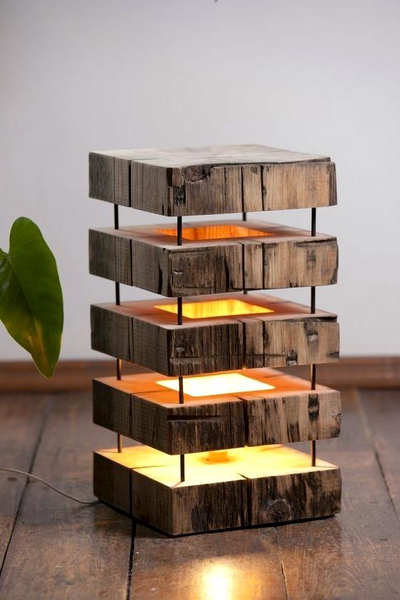 светильник деревянный,светильник из дерева,светильник дизайнерский,светильник из металла