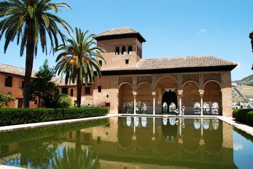 El Partal > Alhambra > Granada