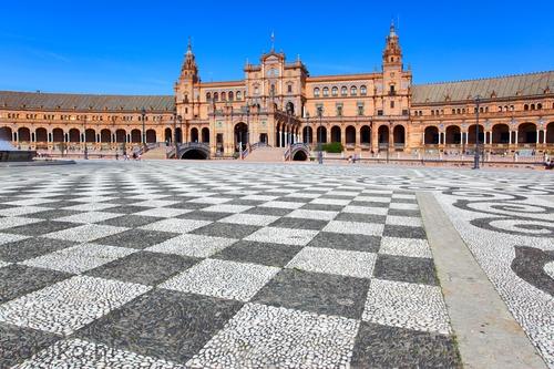 Plaza de España > Sevilla