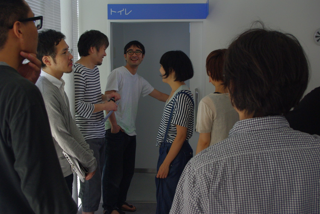 森田浩彰「トイレの中での出来事は共有しているのか」