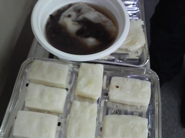 お餅は「松永堂(塩尻市大門5番町)」さんにご提供いただきました。