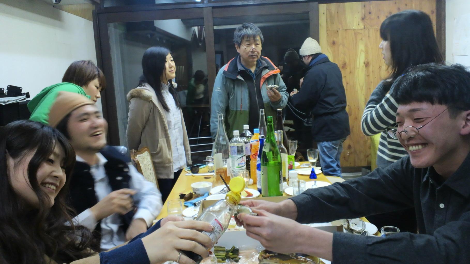 「横澤君、お食い初め的『お酒呑み初め』」スタートです