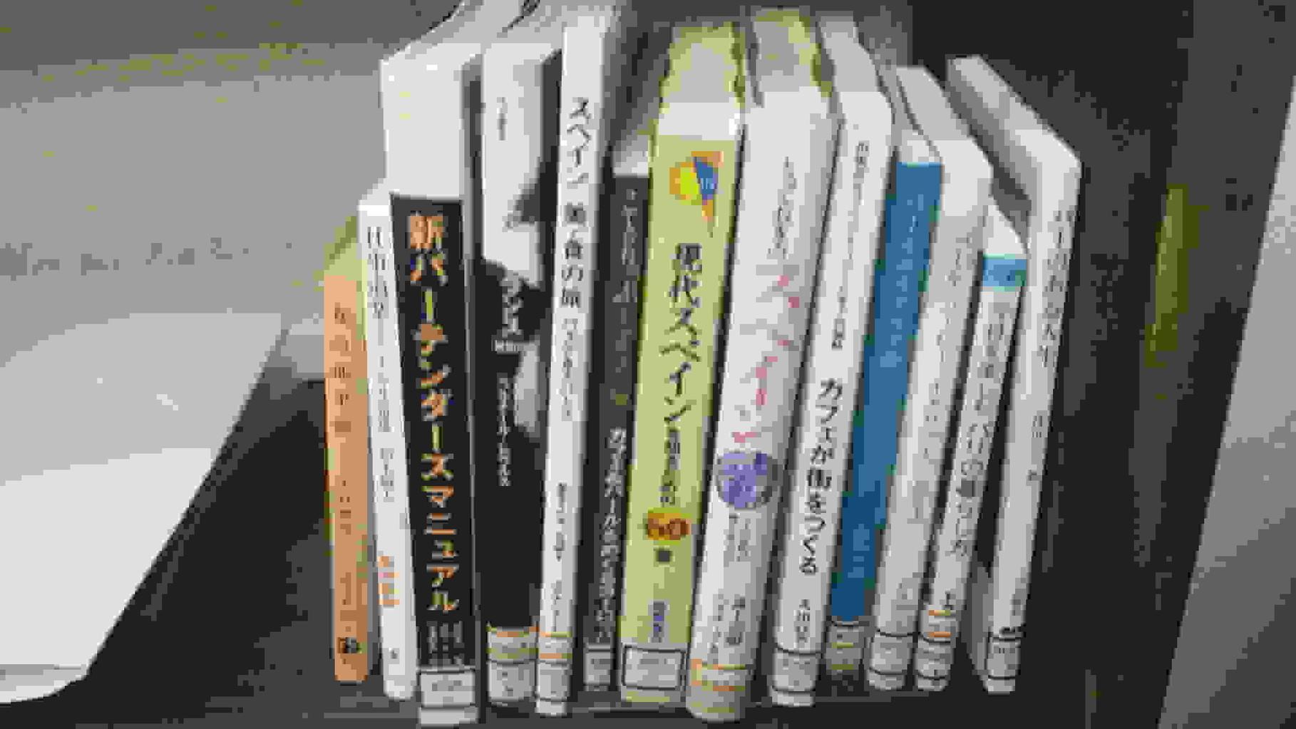 「barなのだ!」barに関する書籍を塩尻市立図書館の協力により集めました