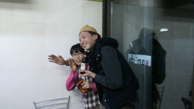 弁慶(塩尻市大門3番町)からもお祝いにかけつけていただきました