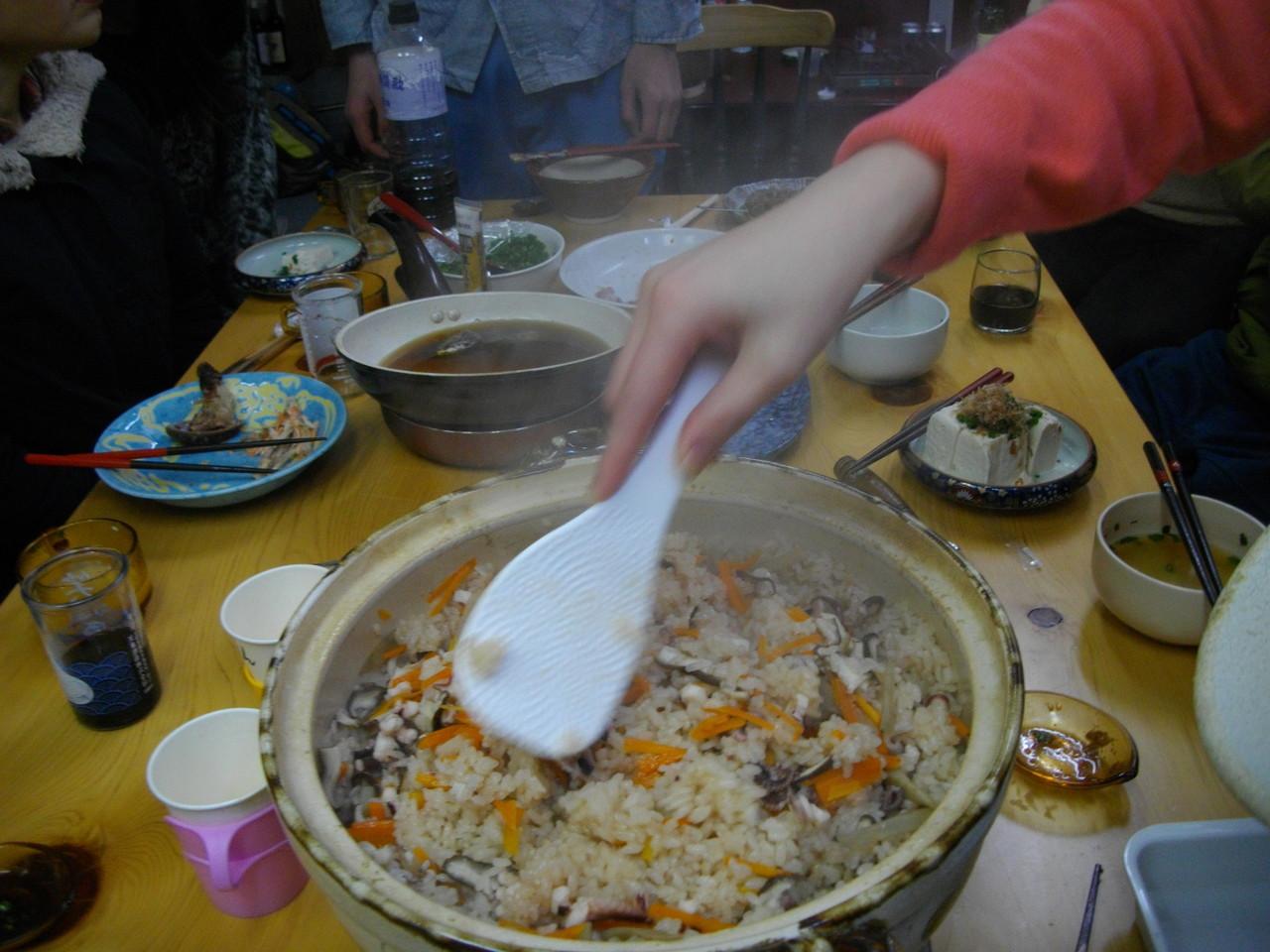 四国では有名な「たこ飯」をつくりました