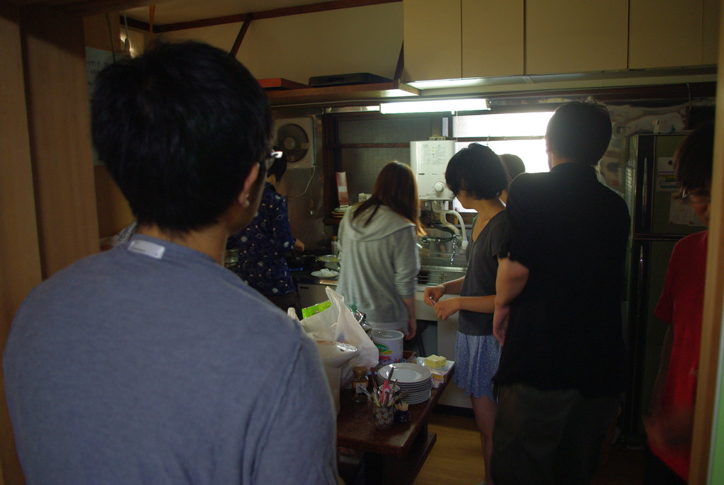 井上文雄「キッチントーク」