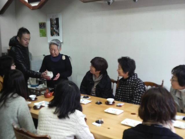 講師は井澤茶舗のおかあさん