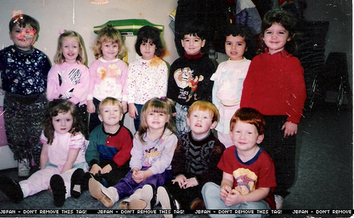 Joseph and kindergarten mates back in Dallas, Texas years.