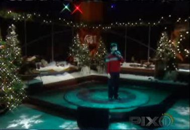 """Nick's FIRST televised performance, December 25, 2003, singing """"Joy to the World (A Christmas Prayer)"""" CREDIT: Pixt v"""
