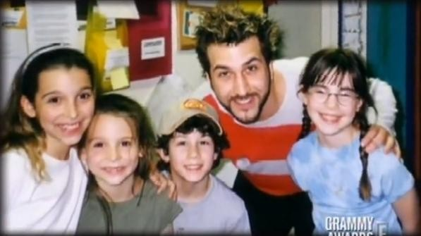 Joey Fatone and the AGYG kids- Jewel, Blaire, Nick and Jenny