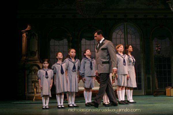 Captain Von Trapp brings out the children