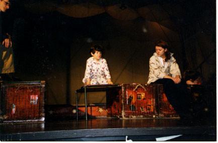 Moonshine Lullaby- rehearsing onstage - credit nicholasjonas.com