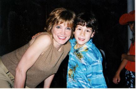 Nick with Crystal Bernard (Annie) - credit nicholasjonas.com