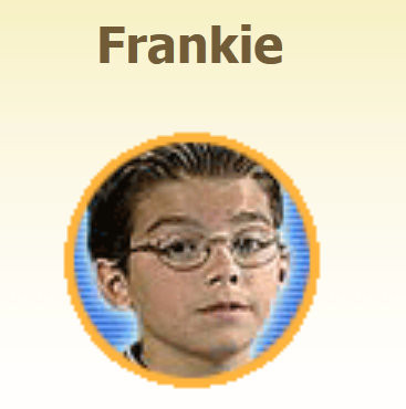 "Thumbnail for Joe's character ""Frankie"" CREDIT: livemocha..com"