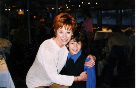Reba McEntire and Nicholas at the farewell cruise - credit nicholasjonas.com