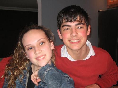 Joe with his ex girlfried Mandy.