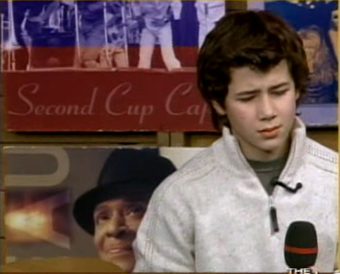 Jonas boys on the Early Show, Nov. 6 2004. Dear God. CREDIT: NJB and CBS