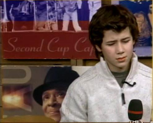Jonas boys on the Early Show, Nov. 6 2004. Dear God. CREDIT: NJB and CBS