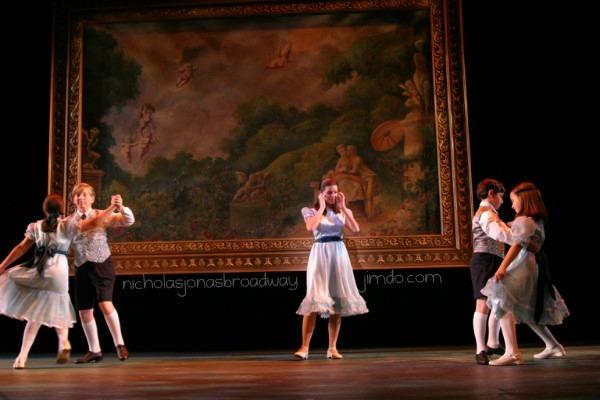 The Dance scene. Nicholas is dancing with Allison