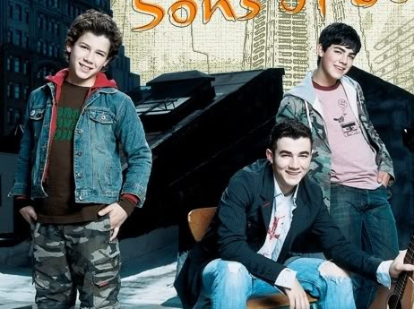 'Nicholas Jonas' photoshoot session with the Sons of Jonas
