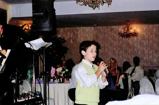 Little Nick probably rocking somebody's wedding.