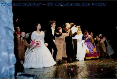 Curtain call (he is at the end, next to the purple/pink dress) May 17th 2003, final public performance - Credit Kevin Kern