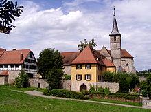 Münchsteinbach Monastery in Frankonia