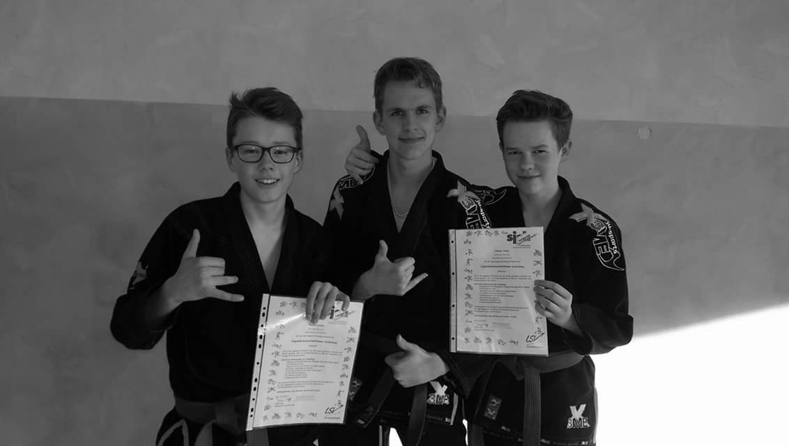 Übungsleiter Assistenten Bennet, Nick, Hannes